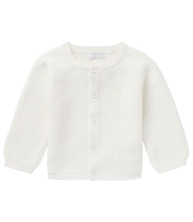 Noppies Noppies U Cardigan knit Naga c001 white