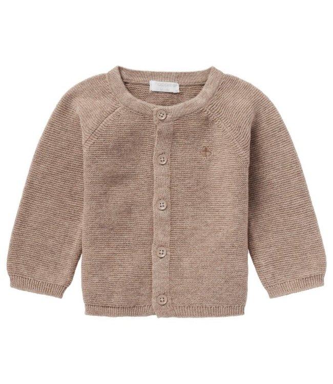 Noppies Noppies U Cardigan knit Naga taupe p757