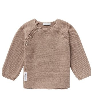 Noppies Noppies U Cardigan Knit ls Pino Taupe Melange