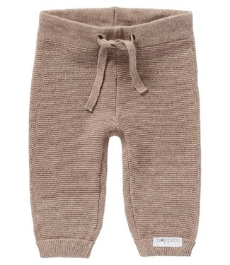 Noppies Noppies U pants Knit Reg Grover Taupe Melange