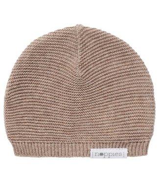 Noppies Noppies U Hat knit Rosita Taupe Melange