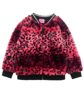 Jubel Animal Attitude Vest fake fur roze