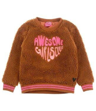 Jubel Animal Attitude Teddy sweater