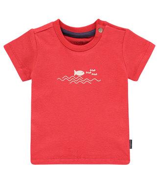 Noppies Noppies boys shirt bright red