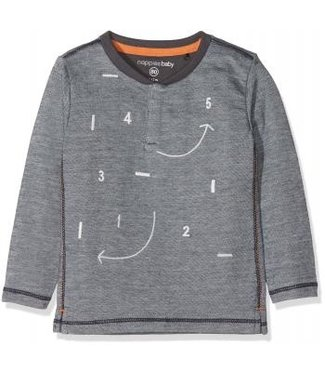 Noppies Noppies shirt Toledo charcoal