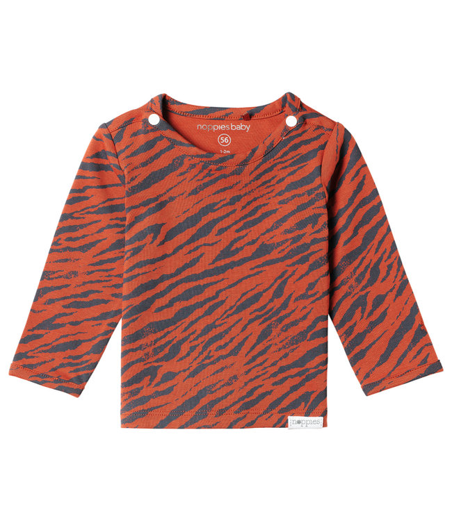 Noppies LE shirtje Yasumi spicy ginger