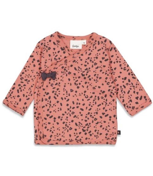 Feetje Feetje Overslagshirt - Full Of Love Terra Pink 51601752