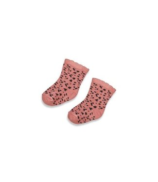 Feetje Feetje Sok - Full Of Love Terra Pink 50400158