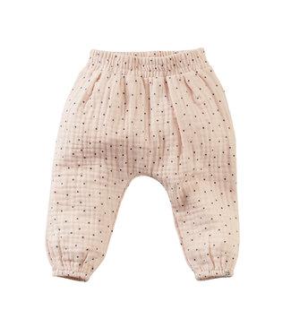 Z8 Z8 newborn Girls Jog broekje Soembawa Dusty blush/AOP