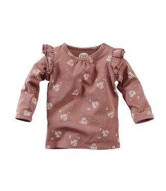 Z8 Z8 newborn Girls Long sleeve Palawan Red rust/AOP