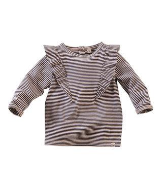 Z8 Z8 newborn Girls Long sleeve Leyte Dusty blush/Stripes
