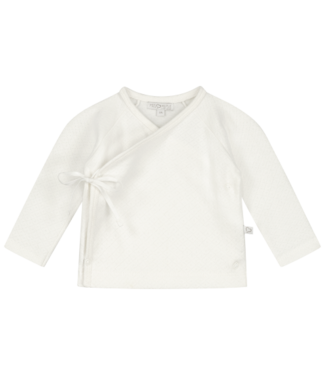 Mats & Merthe Mats&Merthe Benthe wikkel vestje off white 2021-0022
