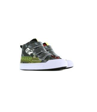 Shoesme Go Banana gympje met  Alligator Print GB-LATERGATOR-V
