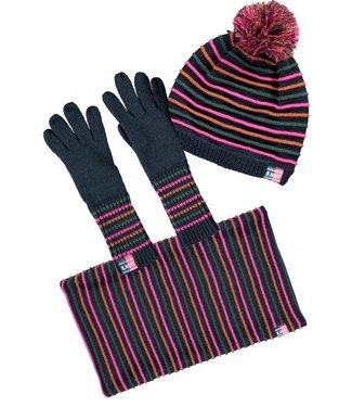 B.Nosy B-nosy Girls hat , neckwarmer, gloves set Y107-5917 146