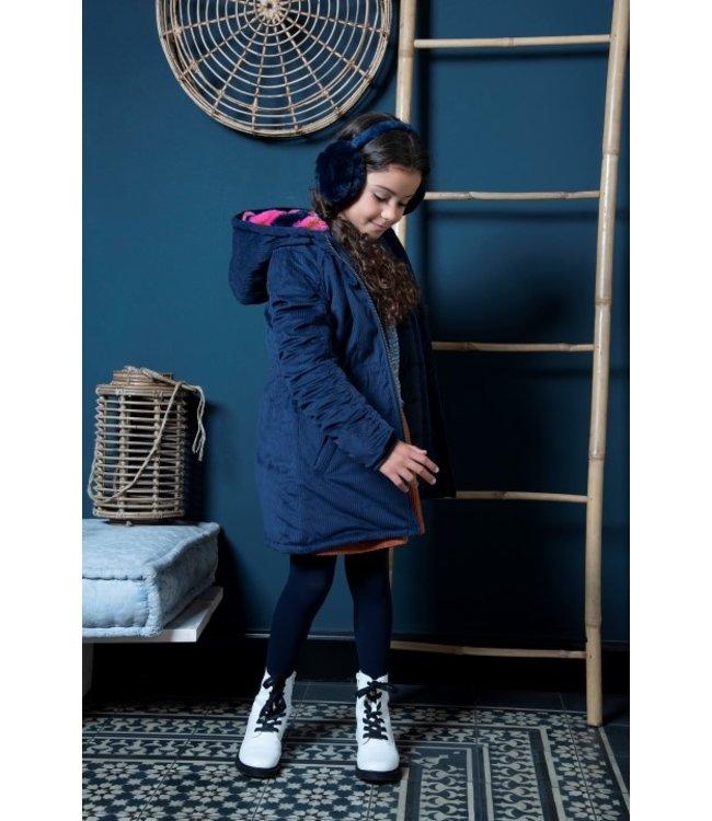 B.Nosy B-nosy Girls corduroy long jacket Y107-5216 146