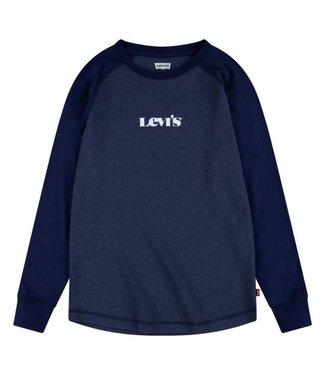 Levi's Levi's boys longsleeve blauw  D479-B5S