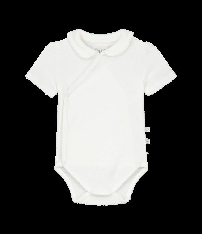Mats & Merthe Mats&Merthe Charlotte Body Short Sleeve Off White 2021-0032