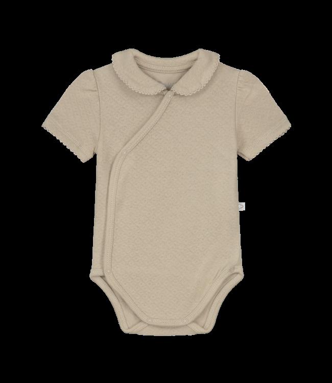 Mats & Merthe Mats&Merthe Charlotte Body Short Sleeve SAND 2021-0033