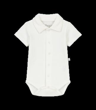 Mats & Merthe Mats&Merthe Noah Body Short Sleeve Offwhite 2021-0034