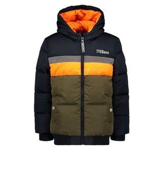 Tygo & Vito T&v jacket colorblock 3M tape Navy X107-6206 190