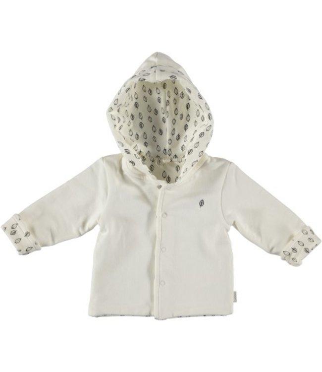 Bess Bess organic  Jacket Hoody Reversible Dessin BO3001-016