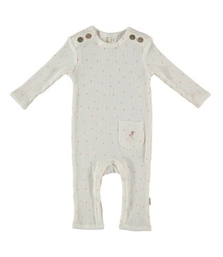 Bess Bess organic  Suit Rib Dots Dessin BO3015-016