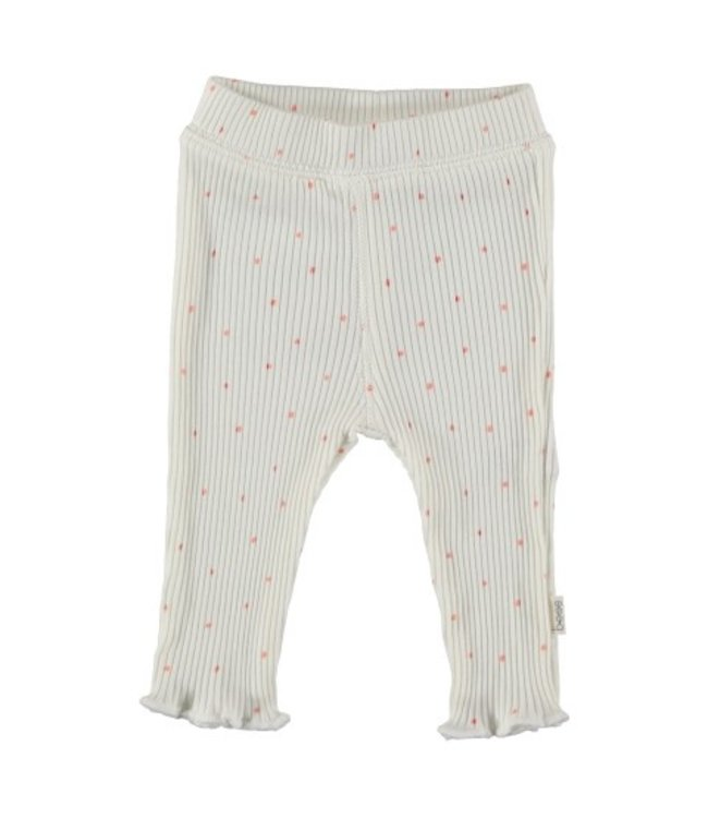 Bess Bess organic  Pants Rib Dots Dessin BO3017-016