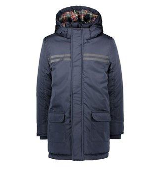 B.Nosy B-nosy Boys long jackets with check fabric in hood Y107-6211 129