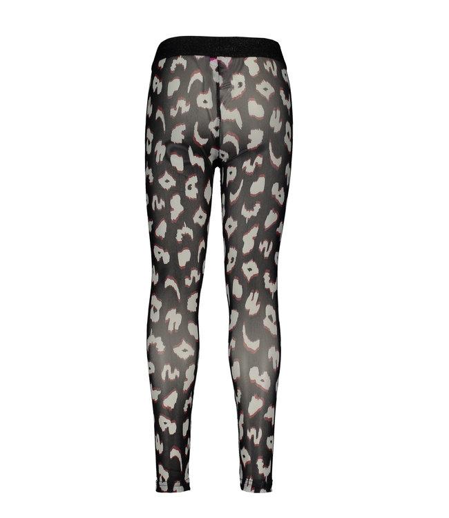 B.Nosy B-nosy Girls mesh legging you leopard Y108-5521 047