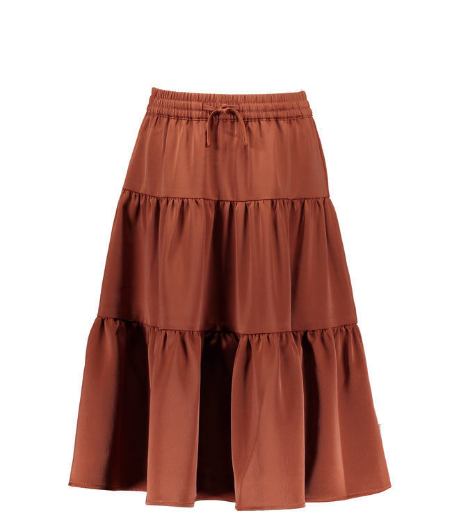 B.Nosy B-nosy Gilrs maxi skirt with smocked wb brique Y108-5724 223