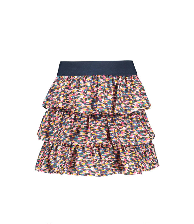 B.Nosy B-nosy Girls 3-layer sporty spickles skirt Sporty spickles Y108-5781 970