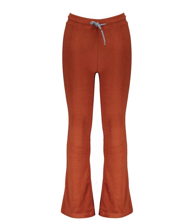 NoNo Nono Sam velours flared pants Rust