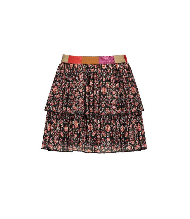 NoNo Nono Nikki 2 layered recycled PL plissee short skirt Red velvet cake