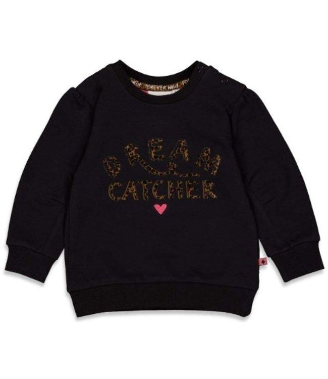 Feetje Feetje Sweater - Forever Wild Zwart 51601816