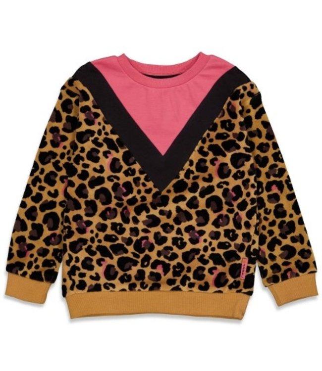 Jubel Jubel Sweater AOP - Forever Wild Geel 91600302
