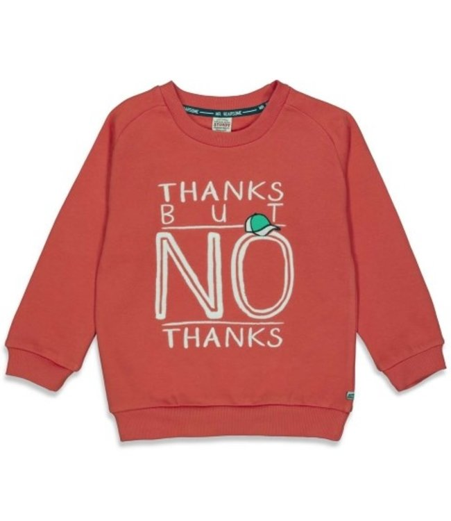 Sturdy Sturdy Sweater Thanks - Press And Play Rood 71600432