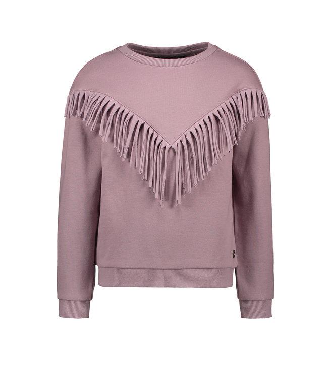Like Flo Flo girls sweat frill sweater lilac