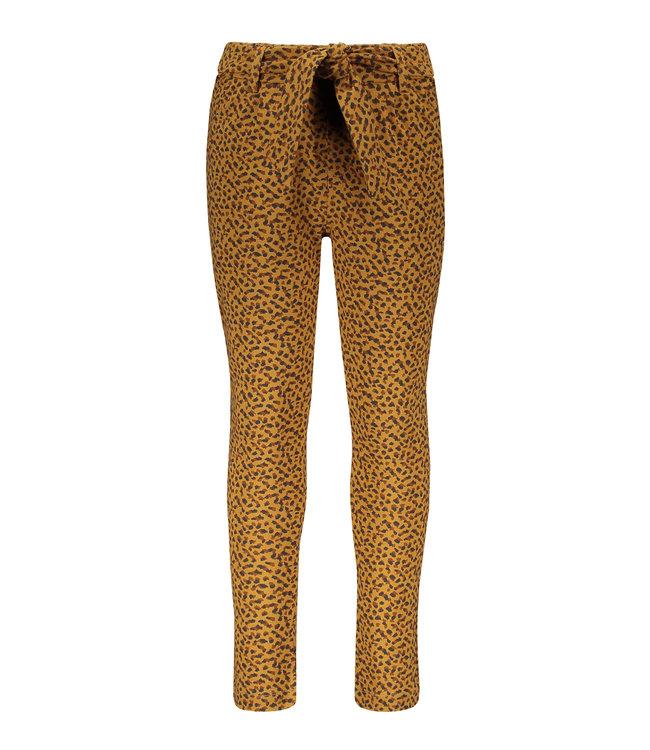 Like Flo Flo girls jacquard jersey pants camel