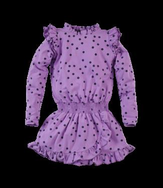 Z8 Z8 Kids Girls Elora Jurkjes l/s Purple power/AOP