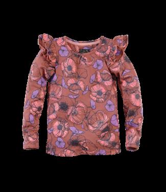 Z8 Z8 Kids Girls Elly Long sleeves Rusty rust/AOP