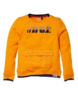 Quapi QUAPI KIAM W212 SWEATER Orange Yellow