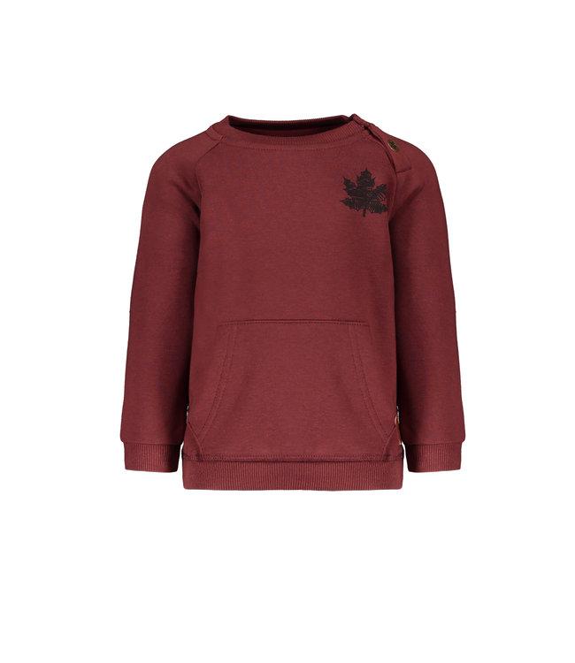 Like Flo Flo baby boys raglan sweater bordeaux