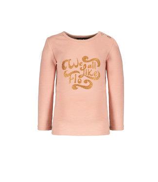 Like Flo Flo baby girls jersey tee faded pink F108-7410 225