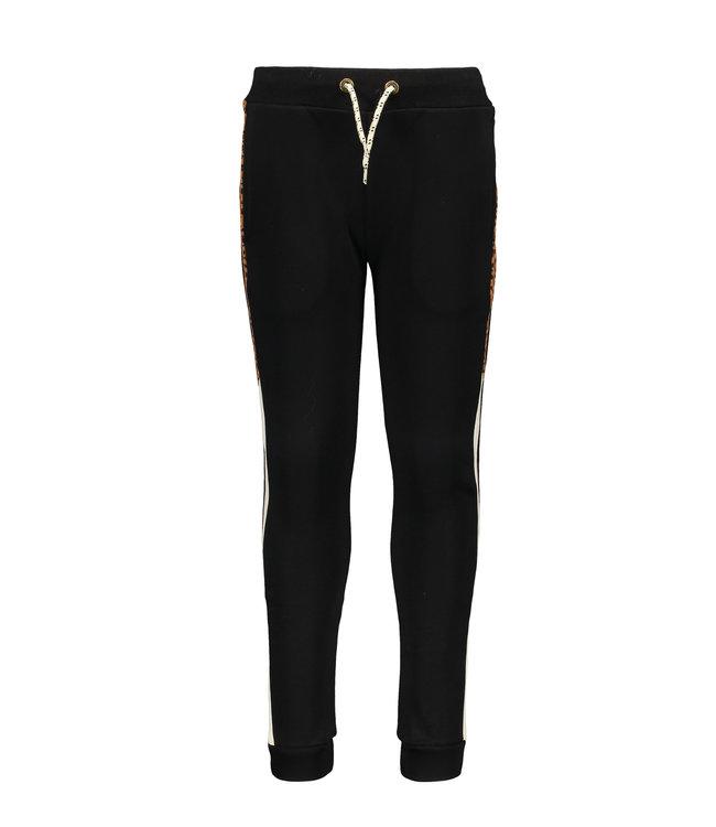 Like Flo Flo boys sweat pants contrast black