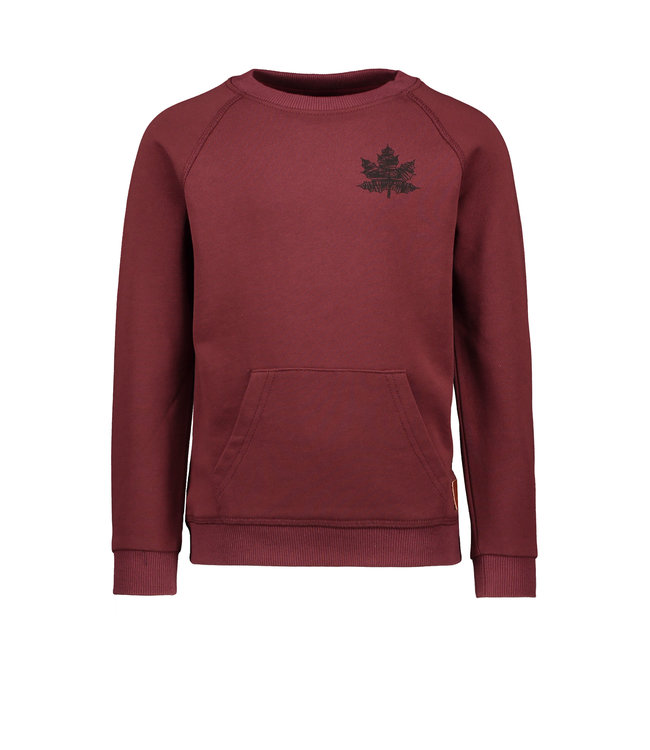 Like Flo Flo boys raglan sweater bordeaux