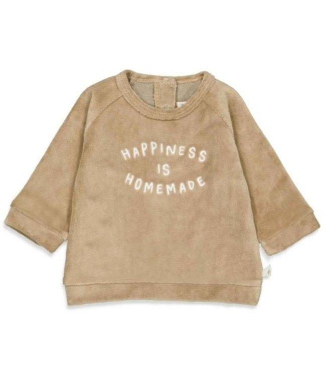 Feetje Feetje Sweater - Little Croissant Zand 51601715