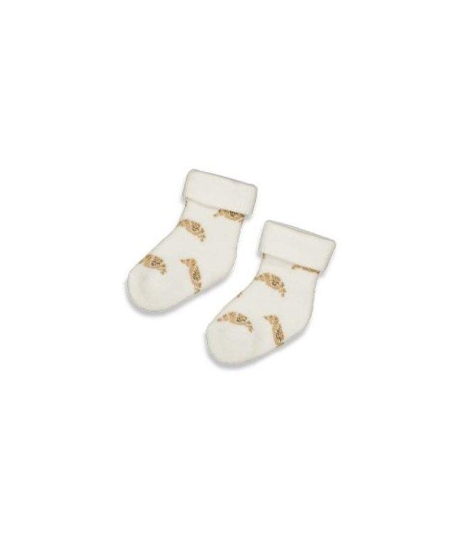 Feetje Feetje Sok - Little Croissant Offwhite 50400152