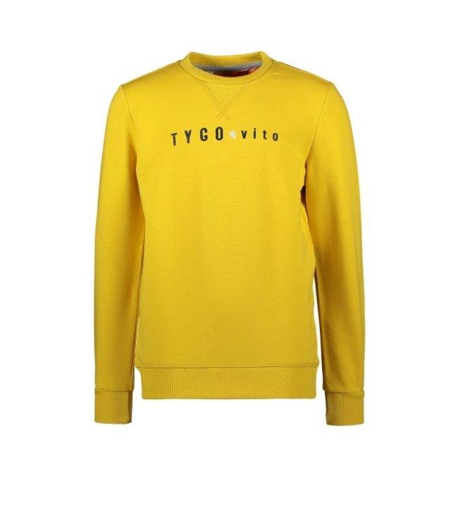 Tygo & Vito T&v sweater TYGO & vito embro Radiant Yellow X108-6320 514