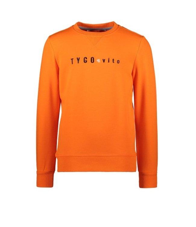 Tygo & Vito T&v sweater TYGO & vito embro Shocking Orange X108-6320 565