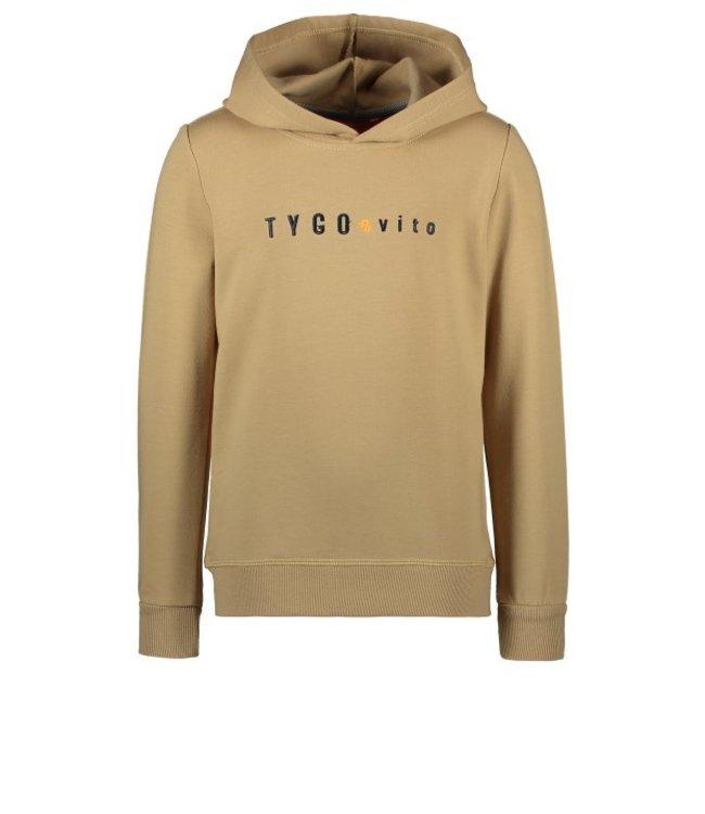 Tygo & Vito T&v hoody TYGO & vito embro Dark Sand X108-6327 410